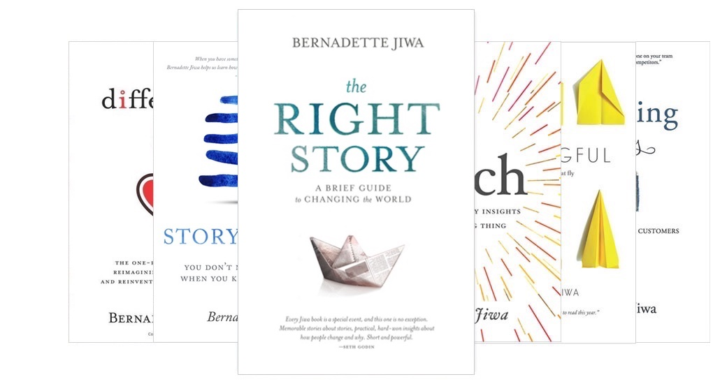 Buy Bernadette Jiwa's Books on AMAZON.com